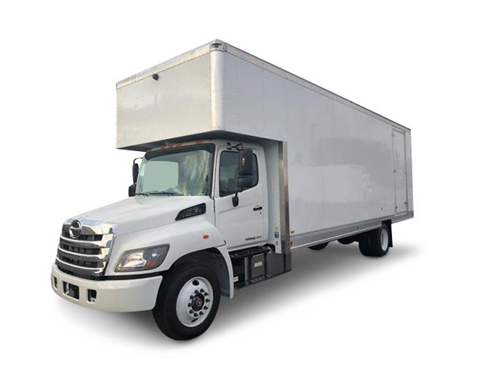 International MV Series Moving Truck